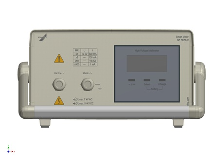 High voltage measuring instrument (U/I, AC/DC)